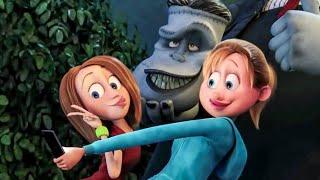 Selfie With Frankenstein Scene - HOTEL TRANSYLVANIA 2 (2015) Movie Clip