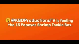 Ken domik Popeyes commercial