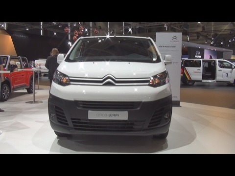 Citroen Citroën Jumpy Würth Panel Van (2017) videosu