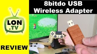 8bitdo USB Wireless Adapter Review- PS4 / Xbox One Controller on Switch!