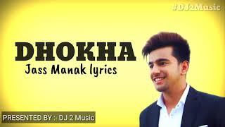 Dhokha lyrics   Jass Manak   Sidhu Moose wala   - YouTube