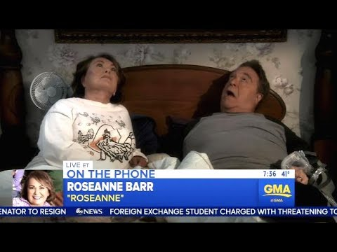 Roseanne Barr Excited For TRUMP Phone Call, They Chatted Ratings (GMA)