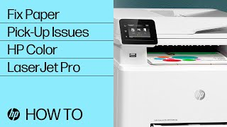 Hp Color Laserjet Pro M252 M274 M277 Printers Out Of Paper Error Printer Does Not Pick Paper Hp Customer Support