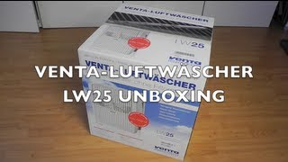 VENTA LUFTWÄSCHER LW 25 - UNBOXING & REVIEW