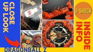 INSIDE INFO of G-Shock x DragonBall Z Casio Watch - Unboxing and Detailed look Design and Functions