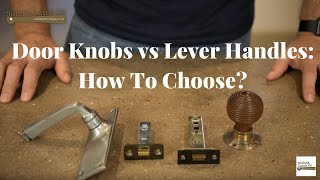 Door Knobs vs Lever Handles: How to choose?