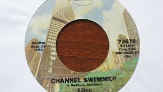 Channel Swimmer - 10cc - Mercury Records (Phonogram) 73678