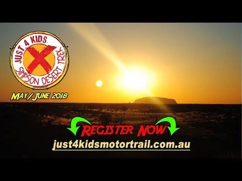 J4K Motor Trail Simpson Desert Trek - Ad 003 Uluru