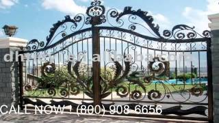Wrought Iron Gates Security