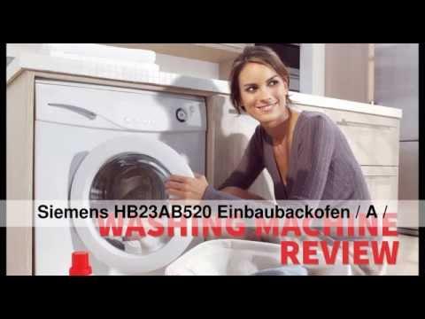 DIE BESTEN Siemens HB23AB520 Einbaubackofen / A / Edelstahl / eco Plus