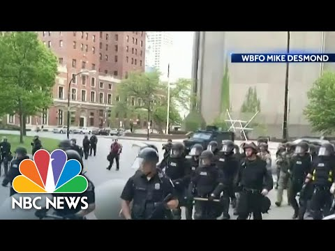 Buffalo Officers Charged With Assault As Outrage Grows Over Clashes With Protesters | Nightly News