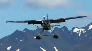 WORLDS BUSIEST Seaplane Base | Lake Hood Seaplane Base Plane Spotting