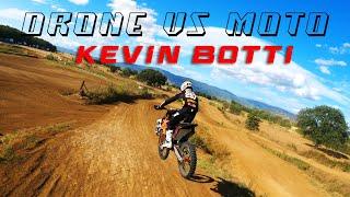 DRONE vs MOTOCROSS - Our drone FPV chases motocross bike #2