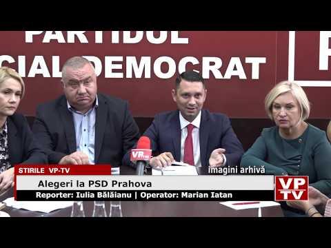 Alegeri la PSD Prahova