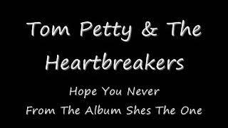 Tom Petty And The Heartbreakers - Hope You Never(Subtitulado Al Español)