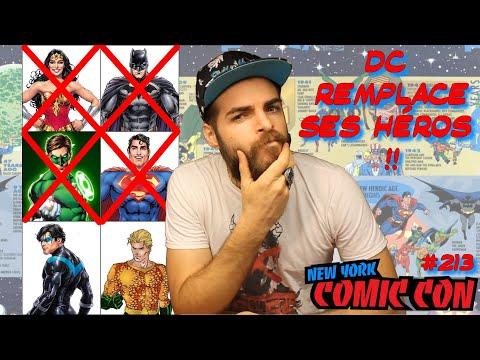 DC REMPLACE SES HÉROS ?! NOUVELLE CHRONOLOGIE ! - JT Comics #213 - 09/10/19