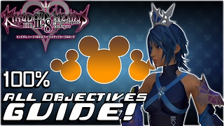 Kingdom Hearts HD 2.8 Final Chapter Prologue - COMPLETE GUIDE:  All 51 Objectives (KH 0.2 BBS)