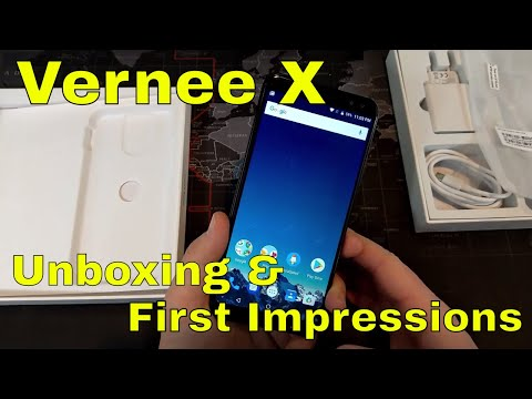 Vernee X: Unboxing and First Impressions