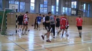 Seance d'entrainement Handball