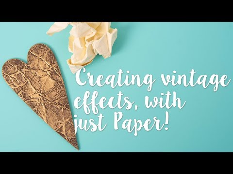 How to Create Metallic Effect - Sizzix Hacks