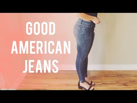 Khloe Kardashian Good American Jeans Review | Laura Lee