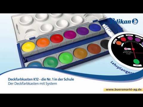 Pelikan K24 Farbkasten 720631 24 Farben