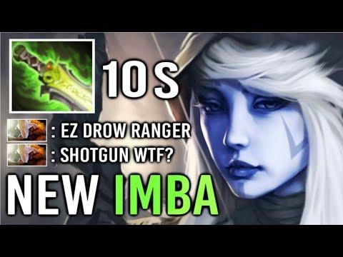 NEW 10s CD Shotgun Drow Ranger vs Team Melee Epic Comeback Gameplay by Monster Top Rank WTF Dota 2
