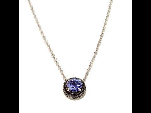 Rarities Multigemstone Sterling Silver Necklace