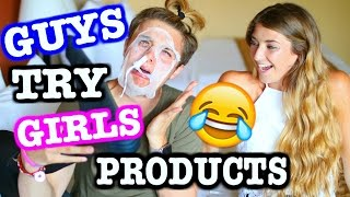 Guys Try Girls Products Ft. Brian Redmon