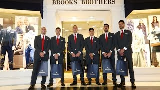 Ο Θρύλος στην Brooks Brothers στο Golden Hall / Our team visits Brooks Brothers at Golden Hall