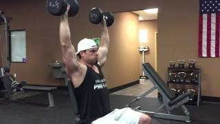 Build Bigger Shoulders with Light Weight