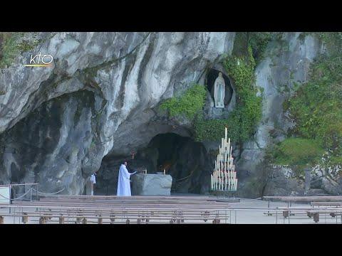 Chapelet du 9 novembre 2020 à Lourdes