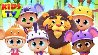 Five Little Babies Going To The Zoo | Super Supremes | Nursery Rhymes & Kids Songs