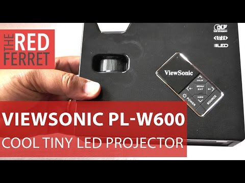 Viewsonic PLED-W600 LED Projector - great little 600 lumens projector really shines [Review]