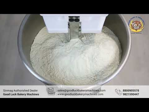 SM-120a Spiral Mixer With Removable Bowl