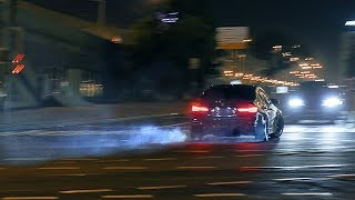 Nightmare Mercedes & BMW M3 F80 CRAZY DRIFT Moscow