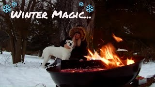 Magic In the Mundane: Winter Magic - VLOG #2