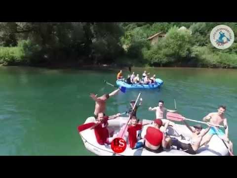19. Internacionalna Ključka regata, 2015. godine - snimak iz zraka