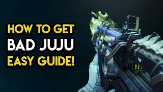 Destiny 2 - HOW TO GET BAD JUJU! Easy Guide, Tribute Hall, Tips, MORE!