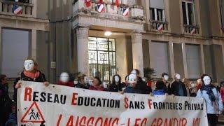 preview picture of video 'Manifestation droit enfant Privas'