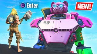 New ROBOT Vs MONSTER Event Secret UNLOCKED!! (Fortnite Battle Royale)
