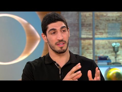 NBA player Enes Kanter on Turkey revoking passport, death threats