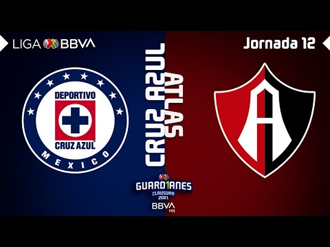 Resumen | Cruz Azul vs Atlas | Liga BBVA MX – Guard1anes 2021 – Jornada 12