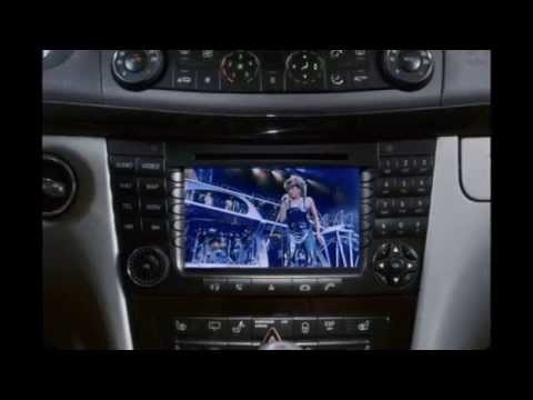 Mercedes E-Class W211 - How to unlock DVD While Driving