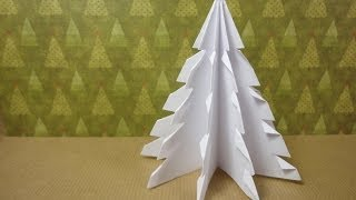 How to Make a 3D Paper Xmas Tree (DIY Tutorial)