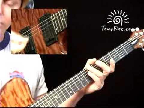 CAGED Guitar System: C Chord Pt. 2 - Brad Carlton