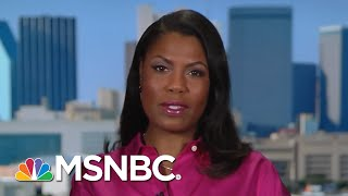 Omarosa Manigault: Trump Is Trying To Use His Limited Intellect To Fool People | AM Joy | MSNBC