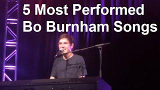 5 Most Performed Bo Burnham Songs