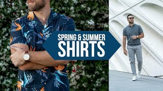 10 Casual Shirts PERFECT For Spring And Summer || Mens Style 2018 || Gents Lounge