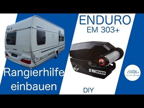 Rangierhilfe Enduro EM 303+   Mover montage   Fendt Wohnwagen   DIY   Lucky Camper